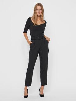 FINAL SALE - Julie carrot fit belted pants