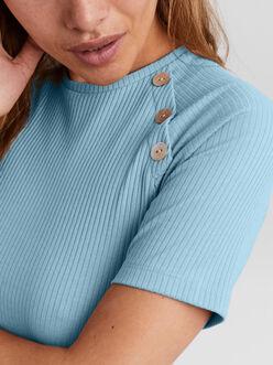 Polly ribbed t-shirt