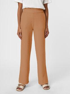 Faune wide leg plush pants