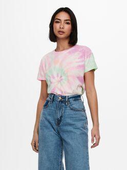 Coco tie-dye print t-shirt