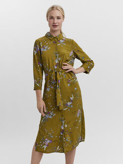 Megga shirt midi dress