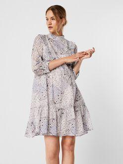 AWARE | Otina high neck frill dress