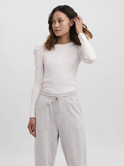 Natasha long puff sleeves t-shirt