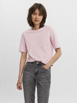 Octavia loose fit crop sweat t-shirt