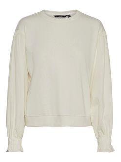 FINAL SALE - Lena ruffled elastic cuffs sweatshirt