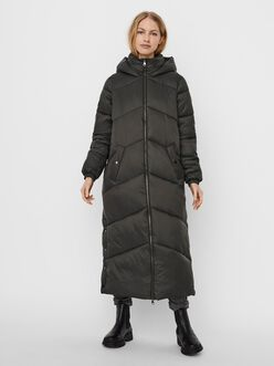 Uppsala long quilted coat