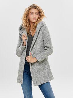 Sedona hooded wool-blend coat