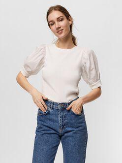 Isla puff sleeves t-shirt