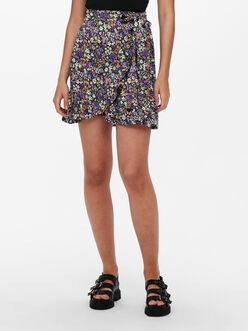 Olivia tied waist wrap style skirt