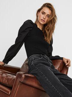 FINAL SALE - Morgan puff sleeves sweater