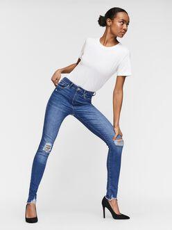 Jean Sophia coupe skinny à taille haute