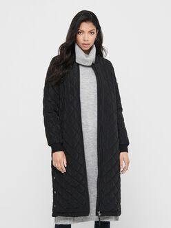 Jessica long quilted coat