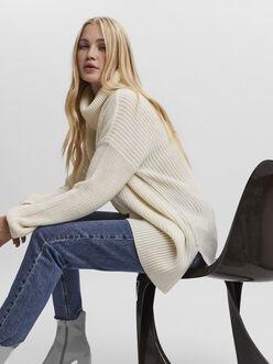 Sayla roll neck long sweater