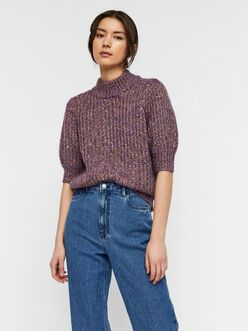 Dofa high neck half sleeves sweater