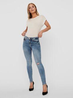 FINAL SALE - Hanna mid waist skinny fit jeans