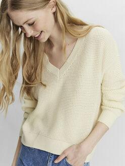 Leanna v-neck knit sweater