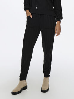 Tessa rib-knit pants