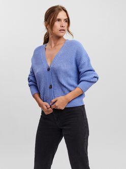 Lea v-neck ribbed cardigan