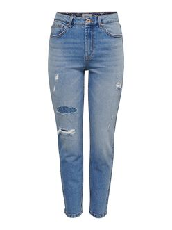 Emily high waist straight fit jeans
