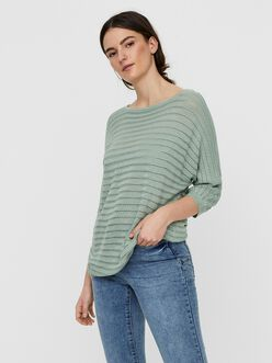 FINAL SALE - Yoyo sheer knit sweater