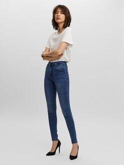 Jean Sophia coupe skinny à taille très haute