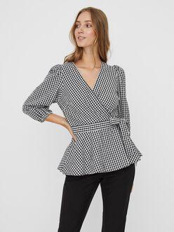 FINAL SALE - AWARE | Oline wrap blouse