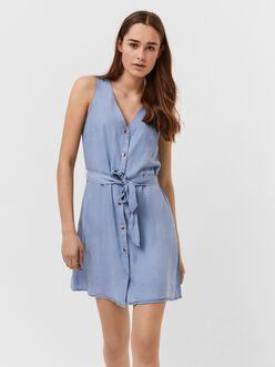Viviana v-neck sleeveless dress