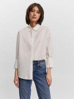 AWARE   Riley loose ruffle blouse