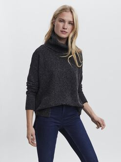 Doffy turtleneck knit sweater