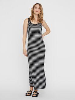 Nanna u-neckline maxi dress