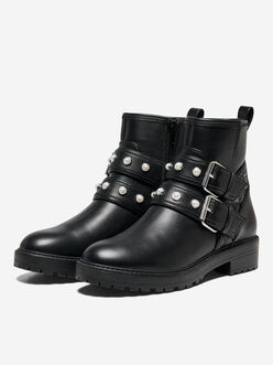 Bada buckle straps boots