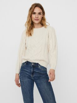 Ginger cable knit sweater