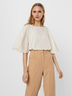 Bonnie butterfly sleeves blouse