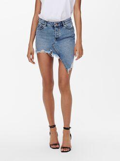 Asta raw asymmetrical skirt