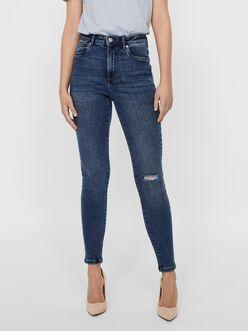 FINAL SALE - Sophia high waist skinny fit jeans