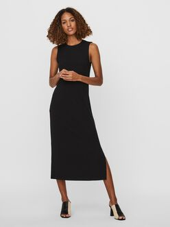 Lydia slim fit sleeveless maxi dress