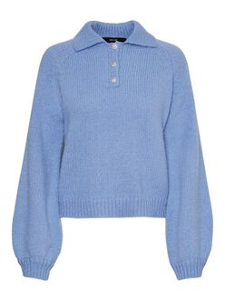 Mabel knit polo sweater