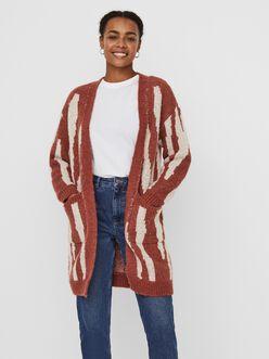 Zelma printed knit cardigan