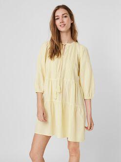 Boho loose fit mini dress