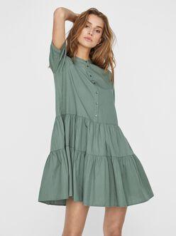 Delta frill mini dress