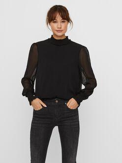 Milla high neck blouse