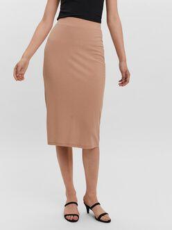 Rosey high waist bodycon midi skirt