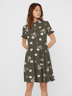 Tallie floral shirt dress