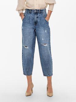 Yverna high waist balloon fit jeans