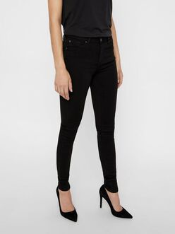 FINAL SALE - Lux mid waist skinny Fit Jeans