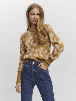 Tari leopard print sweater