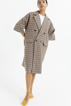 AWARE | Remington oversized checked coat
