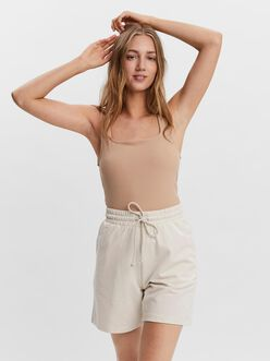 Rosey square neck ribbed cami