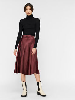 Xara scarf print midi skirt