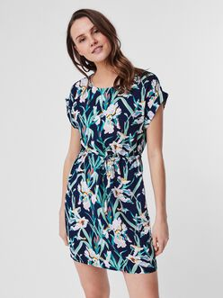 Simply easy drawstring dress
